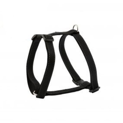 Nylon Dog Harness Black (Small)