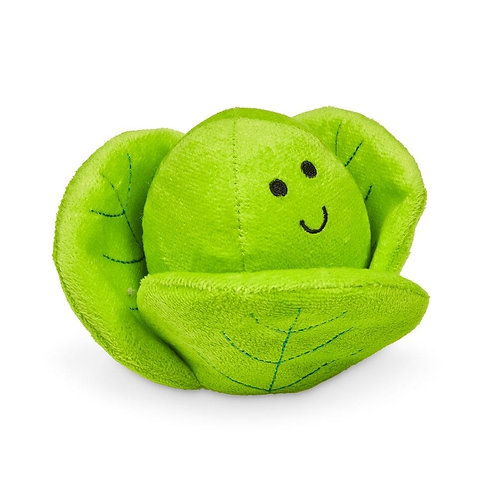 Plush Dog Toy - Brussels Sprout