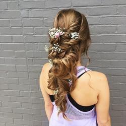 A beautiful boho wedding style by Amanda! 💍💐