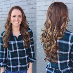 [fall]ing in love with this beautiful color melt! Done by our talented stylist Sarah c!