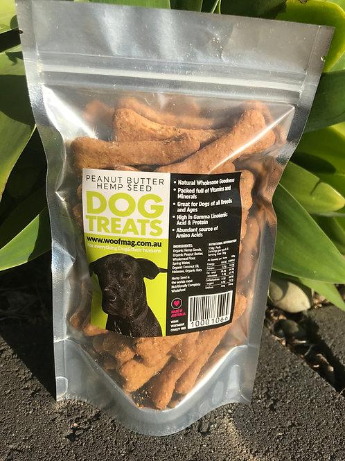 Peanut Butter & Hemp Seed Treats