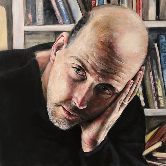 "Self Portrait 36"" x 36"""