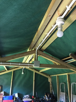 Shed Wiring (new install)