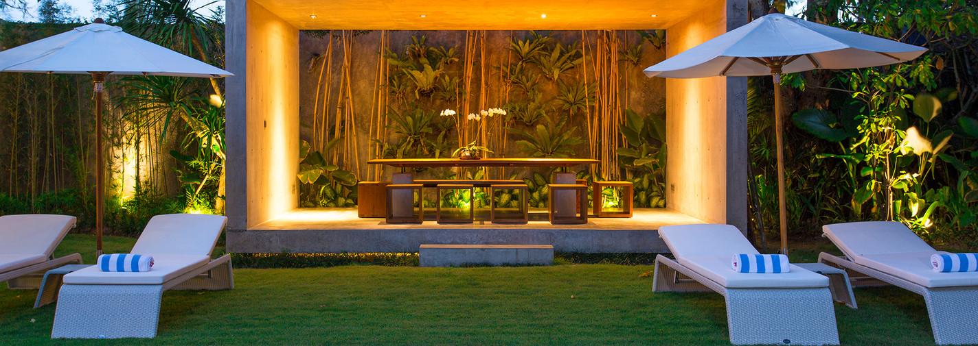 17. Villa Canggu - Villa South pool side at