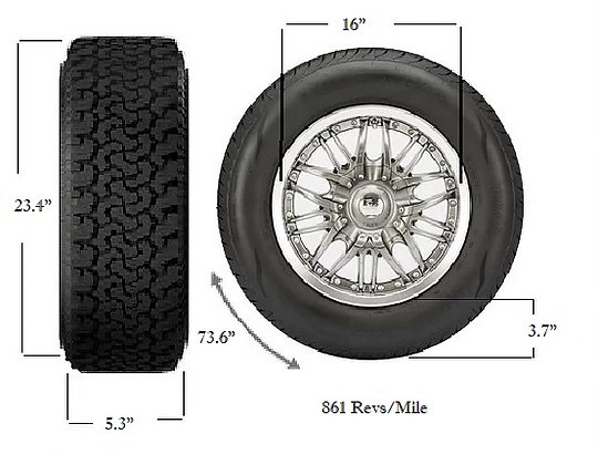 135/70R16, Used Tires