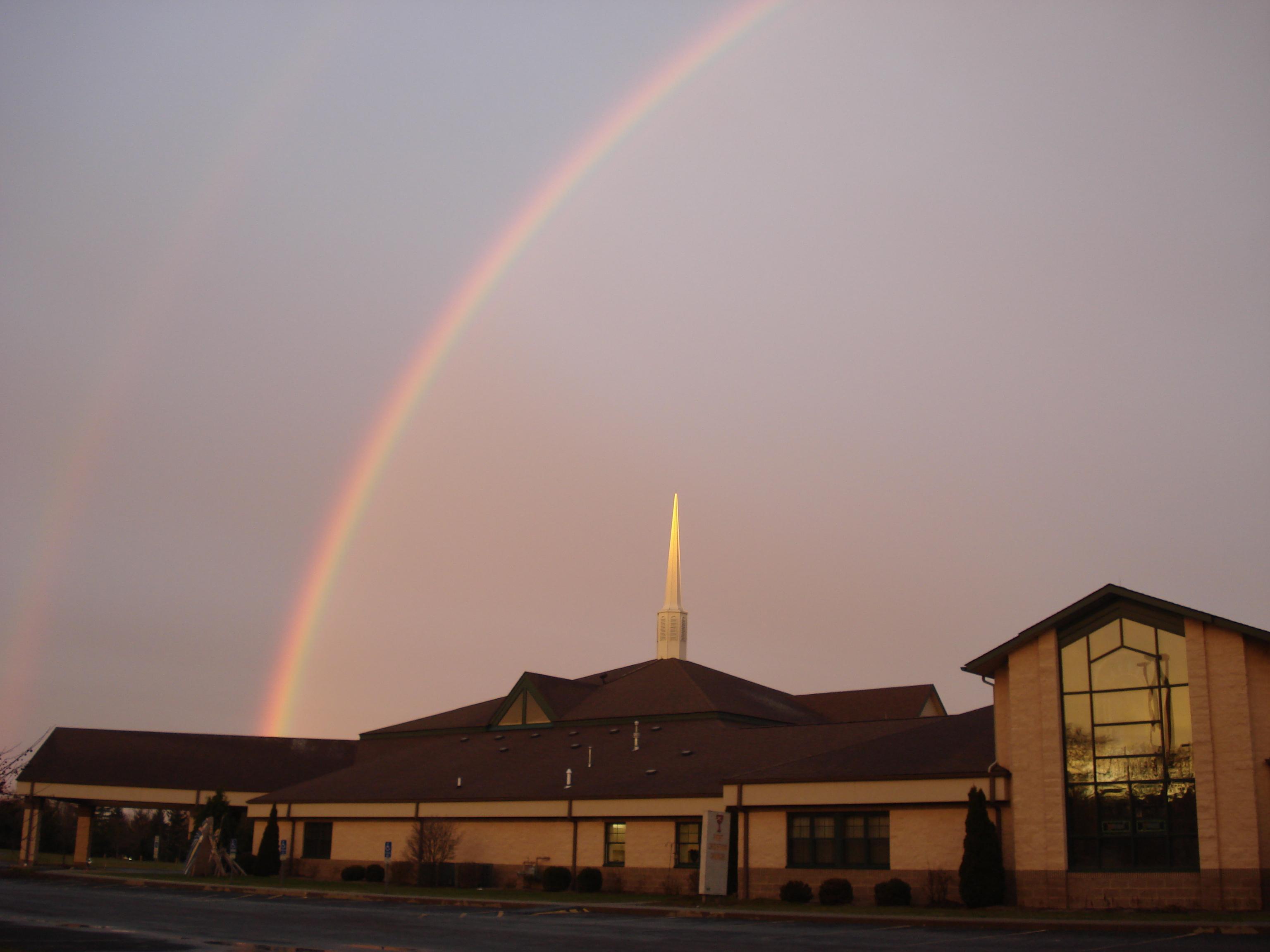 Rainbow blessing