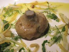 Olive oil braised artichoke heart