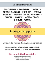 Elenco benefici dello yoga