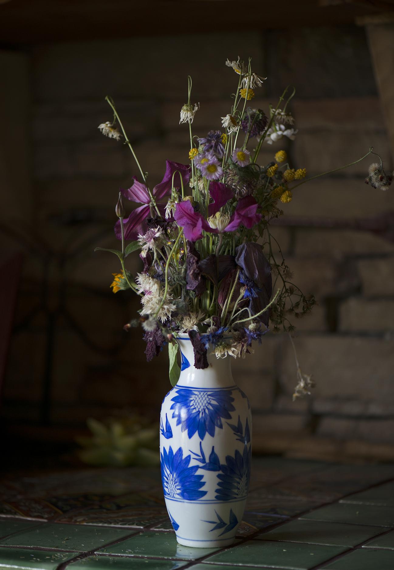 Maggie's blue vase