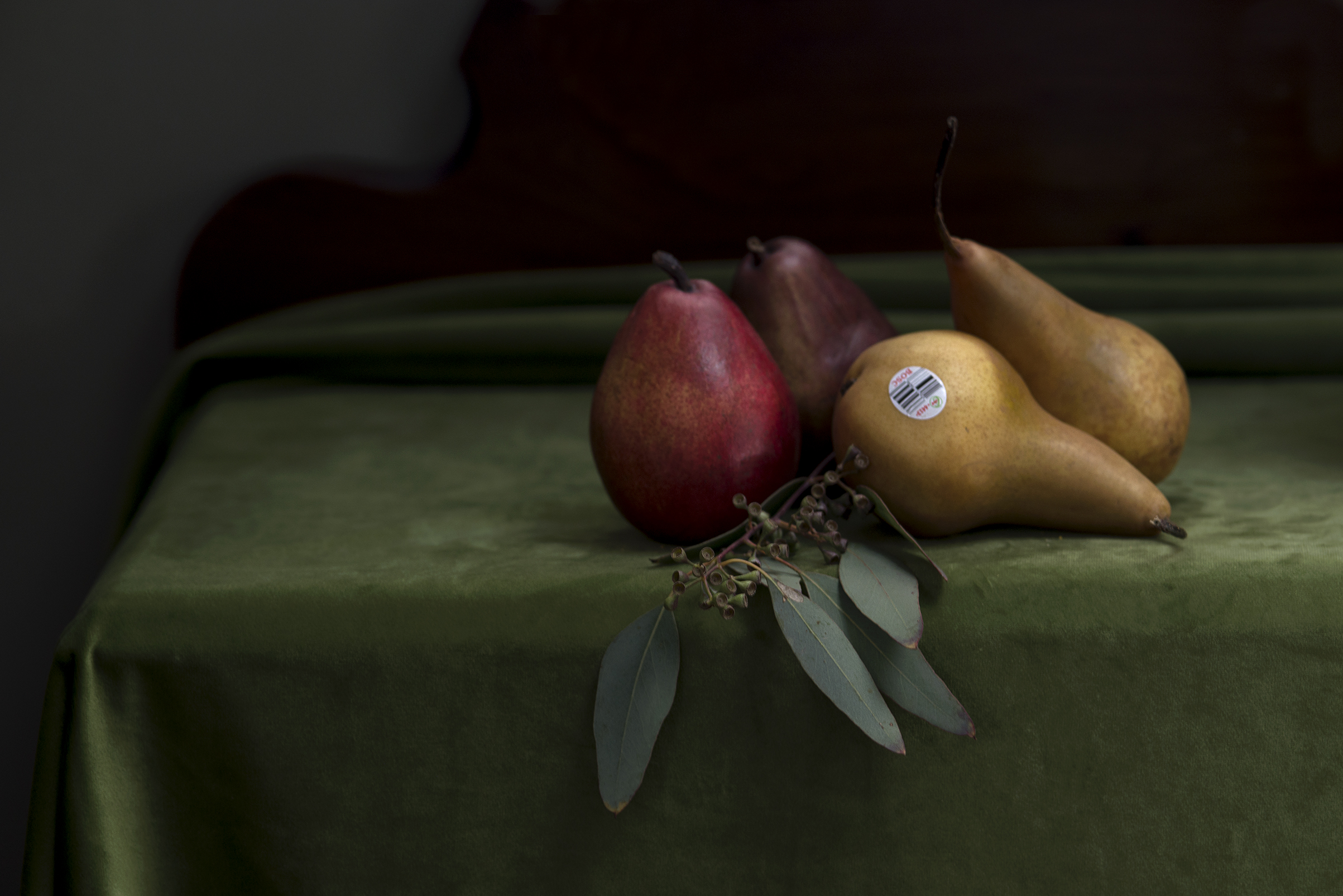 Pears out of season