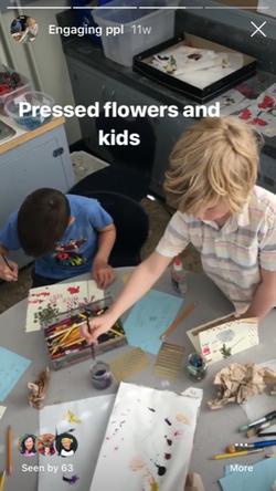 Art and botany class CBE