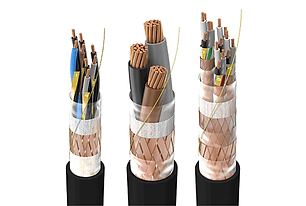 Military standard cables are used for military and navy installations. Those cables are armoured (shielded) and coated and align to military standards. VG95218 is used as naming.