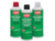 Cleaning and maintenance products and contact cleaner.