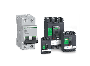 Automation and control gear for electrical installations. Circuit breakers and circuit protection.