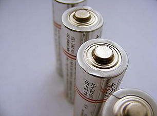 Batteries and power supply.