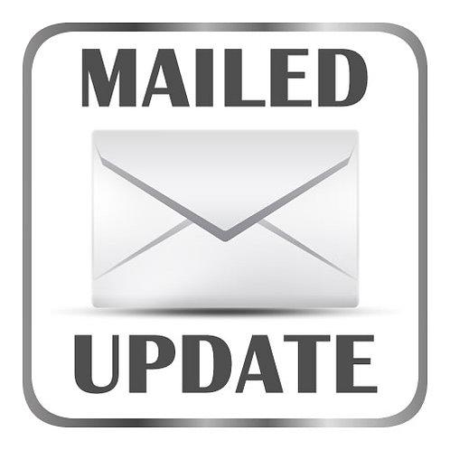 Mailed Database Update Icon