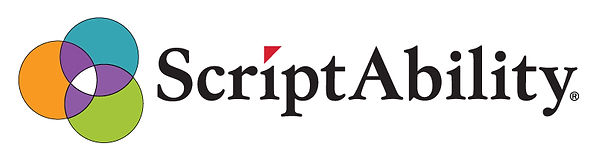 ScriptAbility-Visually-Impaired-Prescription-Product-suite-Logo