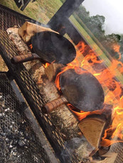 Cooking at Game of Tongs 2019