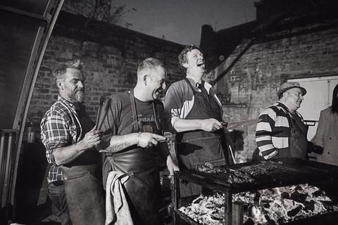 Matt Williams, Andy Stubbs, John & Nic at DDC Smoke & Fire