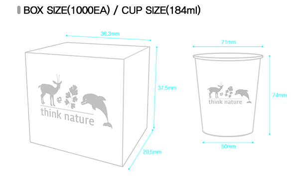 Paper Cup size and price