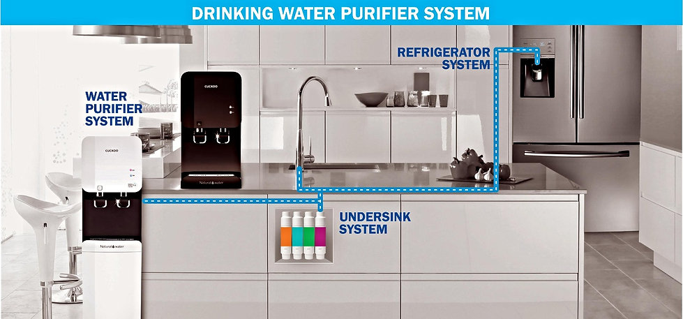 total drinking water purifier system for water purifier dispensor,undersink and refrigerator