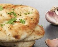Turmeric + Garlic Naan (Gluten-Free)