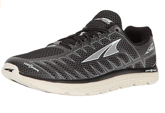 Antra running shoe, zero drop