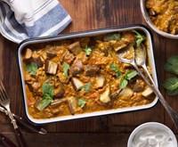 Roasted Eggplant Vegetarian Curry