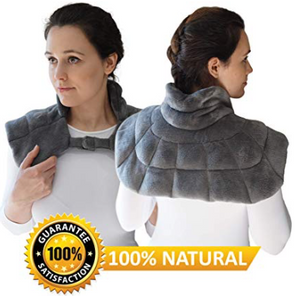 Heated neck and shoulder wrap