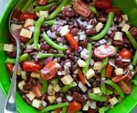 Three-Bean Salad with Gouda