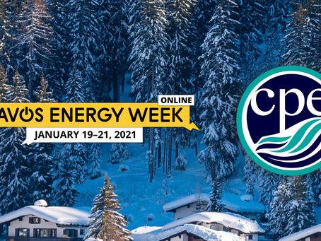 Clean Planet Energy invited to headline the first day at the Davos Energy Week (January 19th 2021)