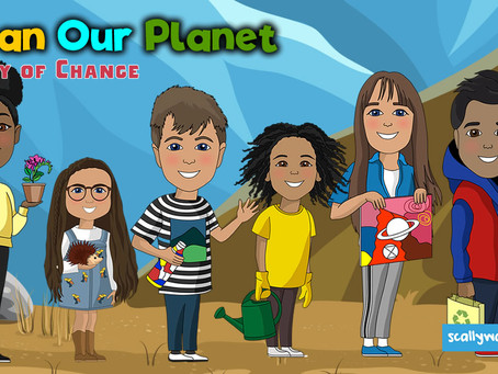 Six school-children win nationwide competition to be the lead voices in a new Animated Series!
