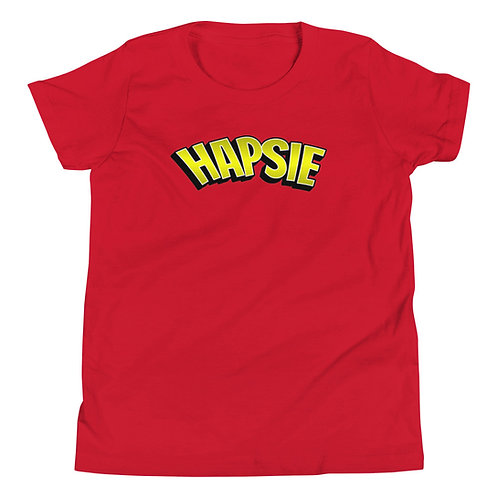 HAPSIE - Youth Short Sleeve T-Shirt (Red)