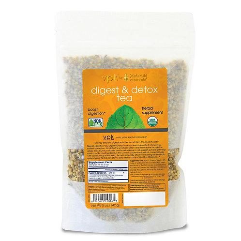 Organic Digest & Detox Tea