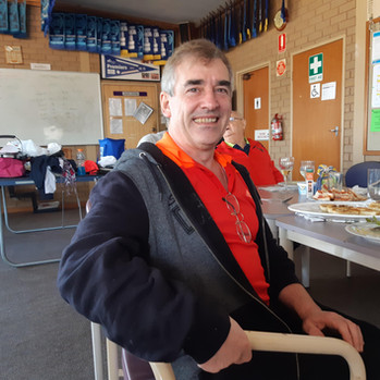 Vince, our club treasurer