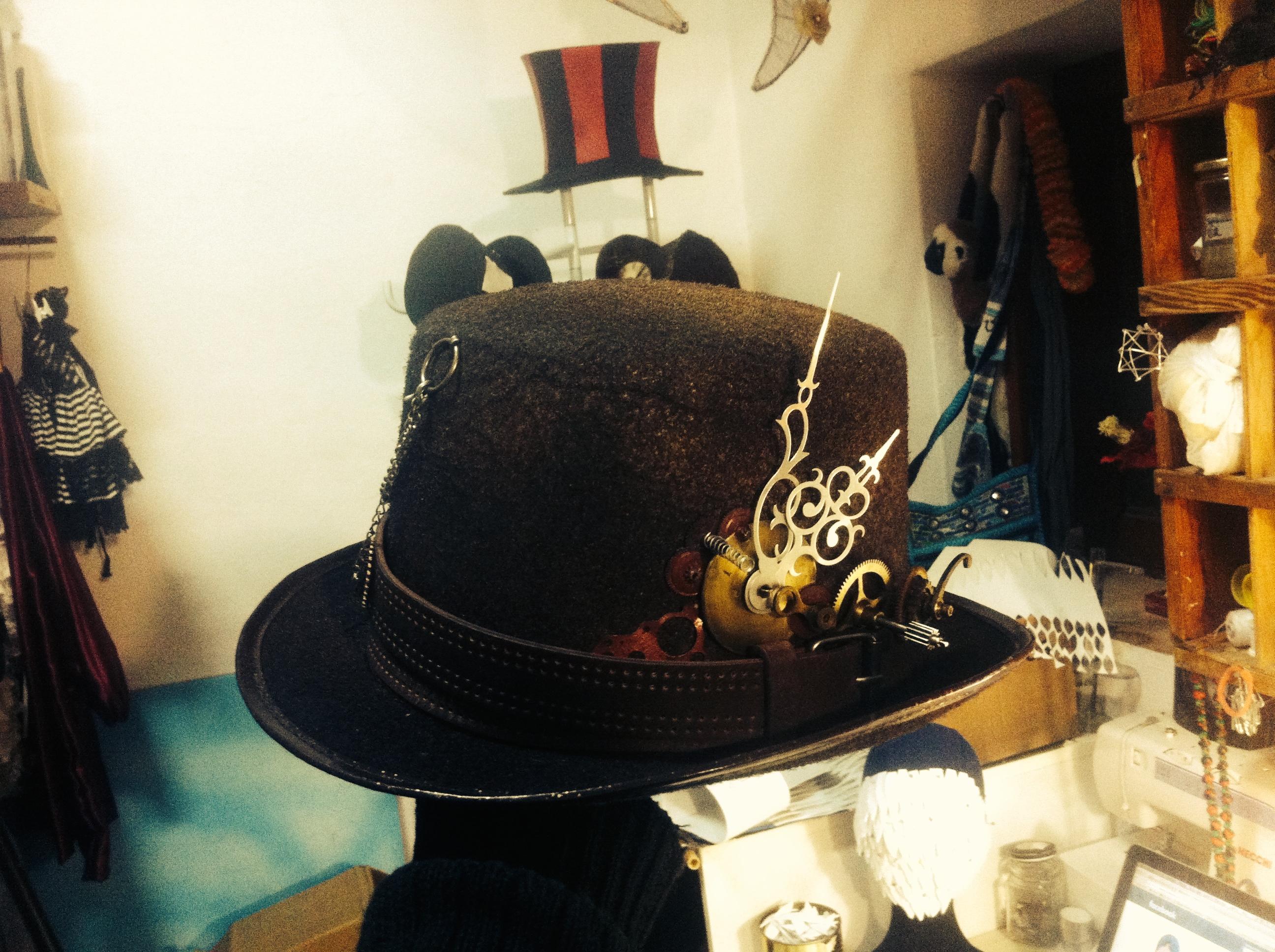 steampunk mad hat