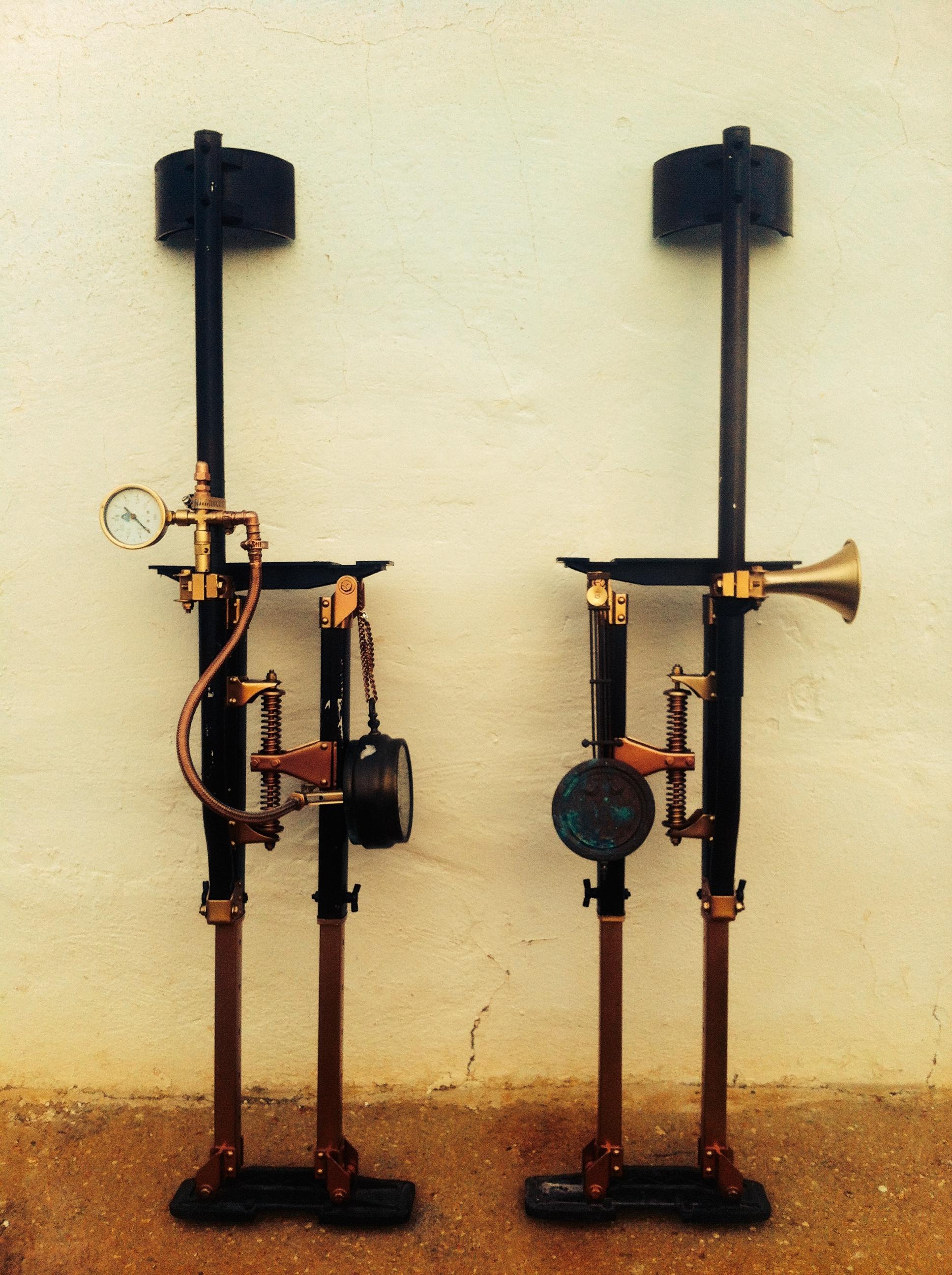 steampunk stilts