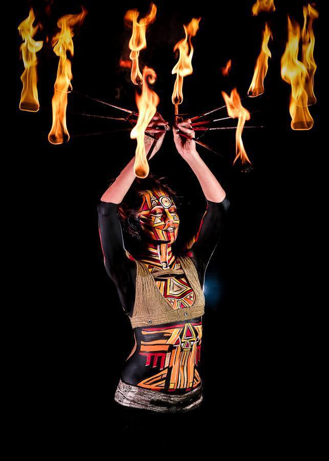 Tribal Fire Shoot