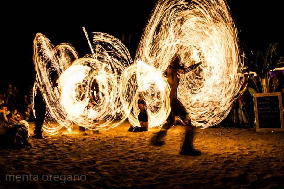 Fire Show, Elements Ibiza