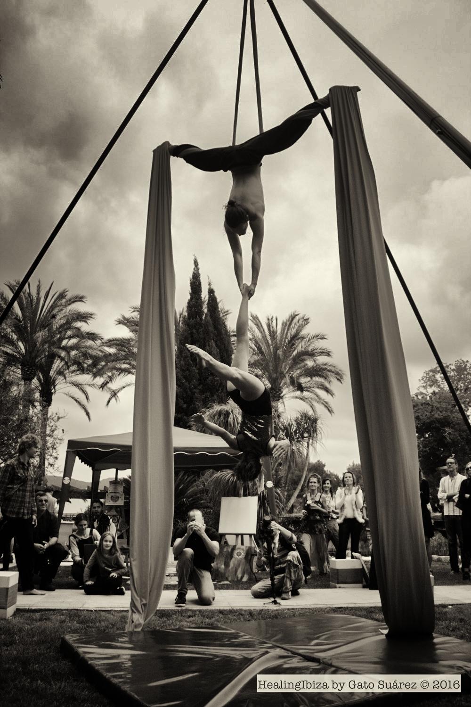 Aerial Show Atzaro, Ibiza