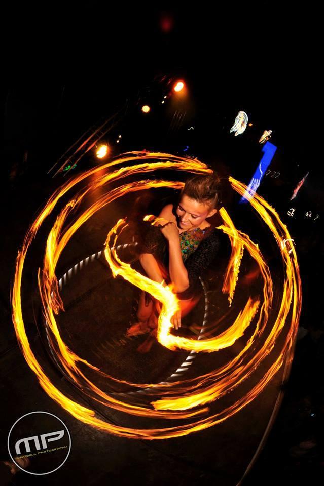 Fire Show, Zoo, UK