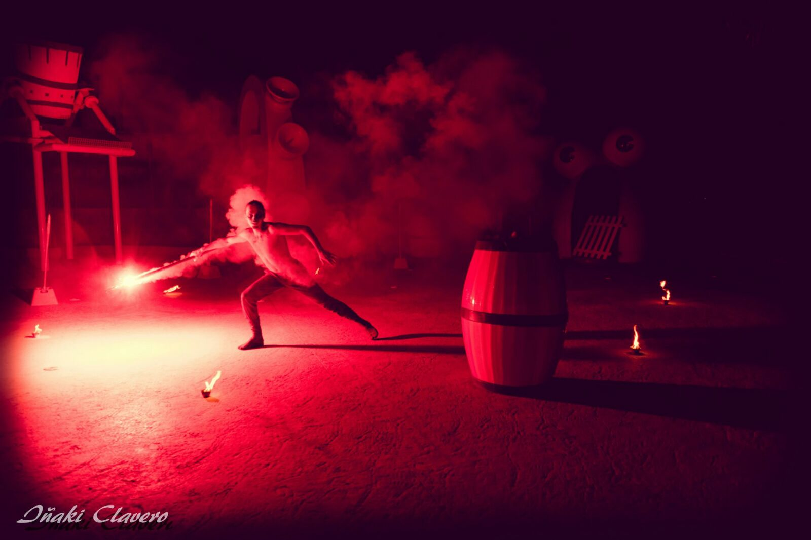 Red Flare effect