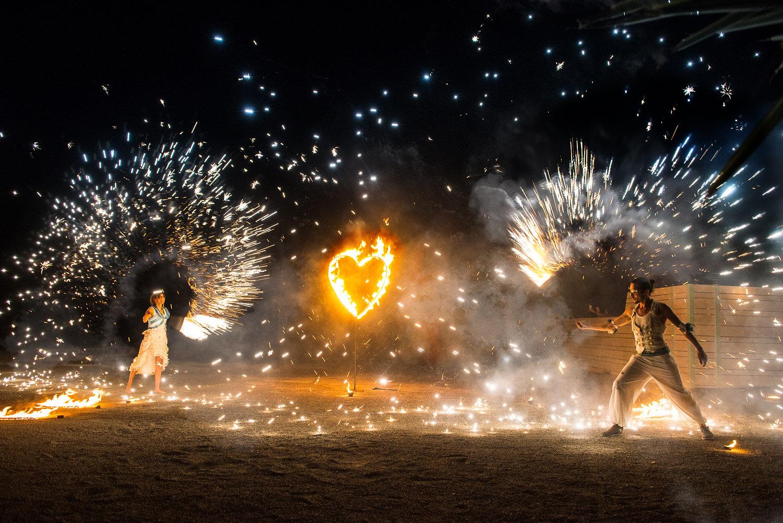 Wedding Fire Show