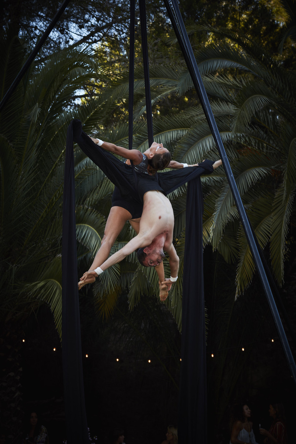 Duo aerial act