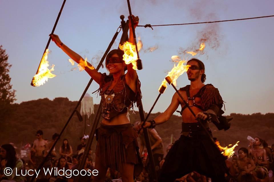 Tribal Fire Show