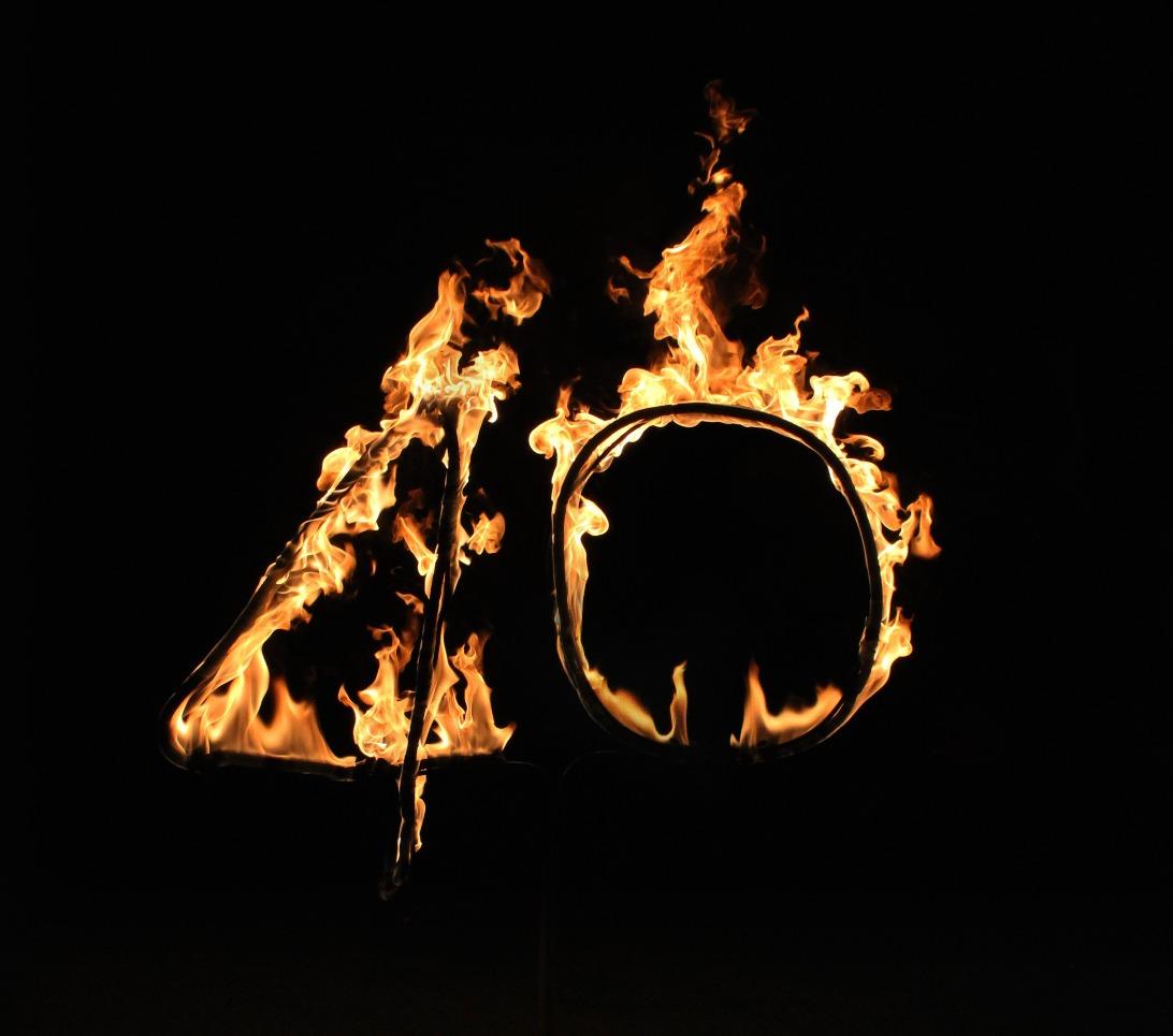 45 logo fire