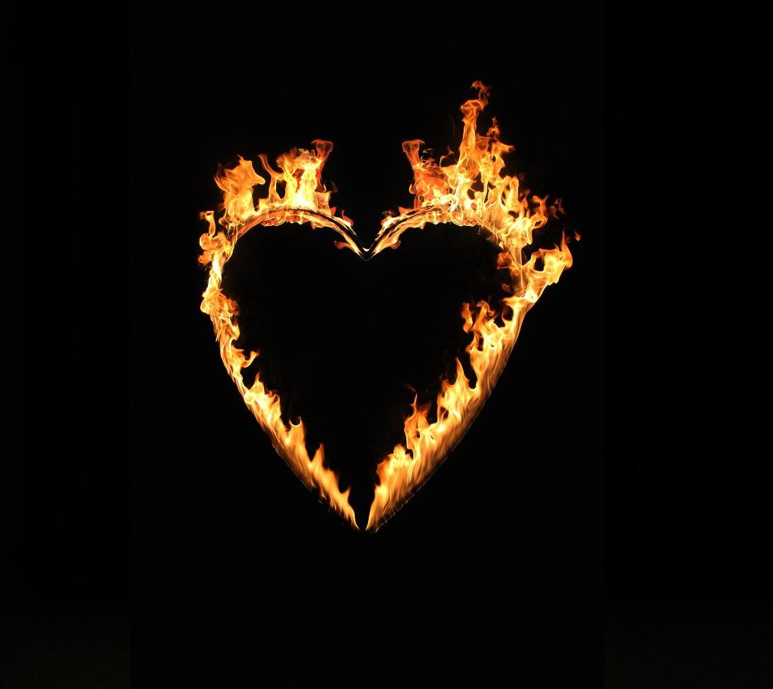 Wedding  Fire Heart