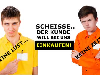 Inkompetentes Laden- und Verkaufspersonal in der Schweiz