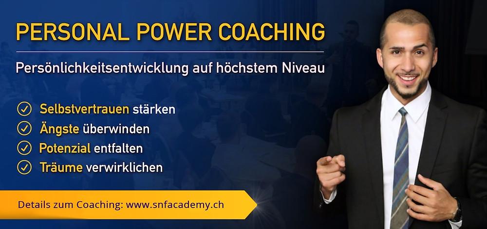 Persönlichkeitsentwicklung coaching