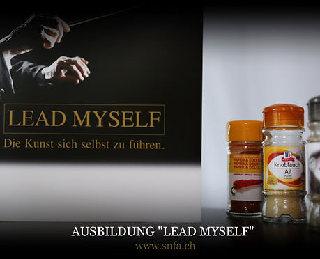 """Ausbildung Leadership """"lead myself"""""""